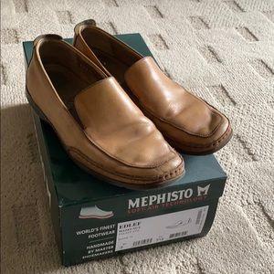 Mephisto Tan slip on shoes
